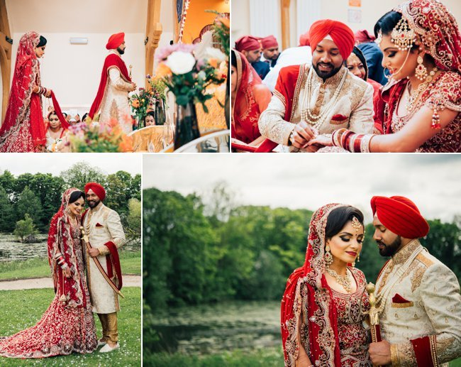 Sikh Wedding Photography at Colwick Hall