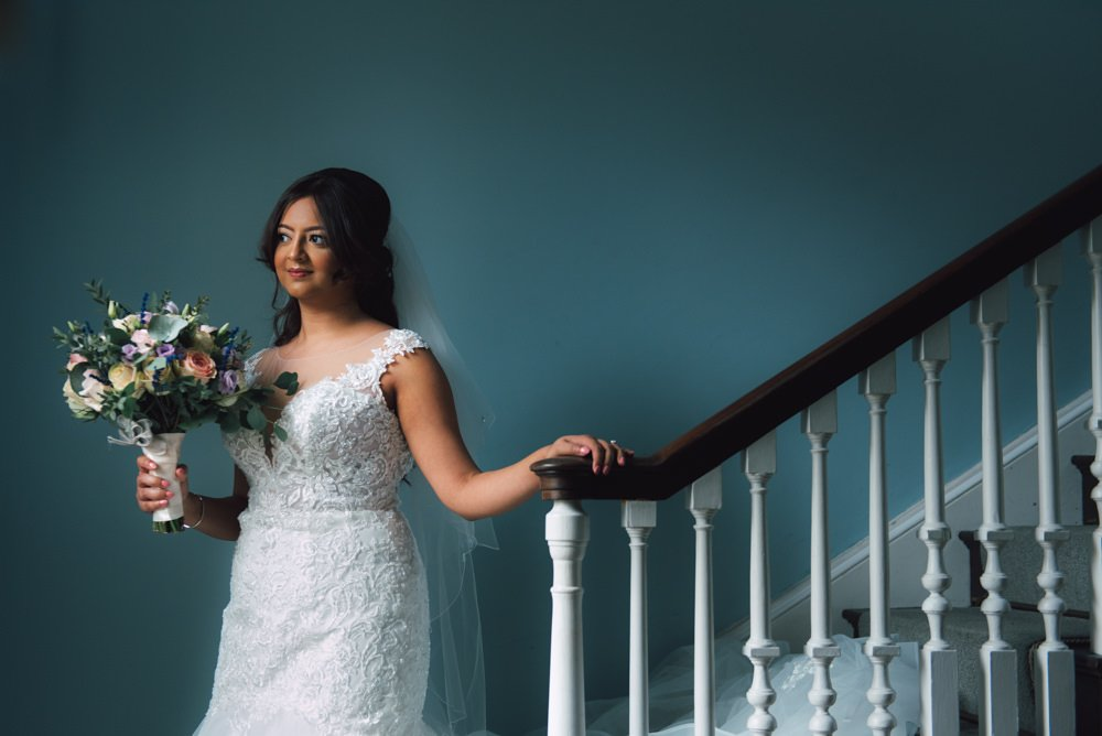 bridal portrait at standbrook abbey