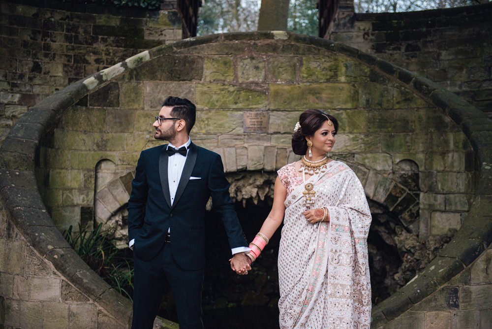 amrita and Karan at Moor Hall